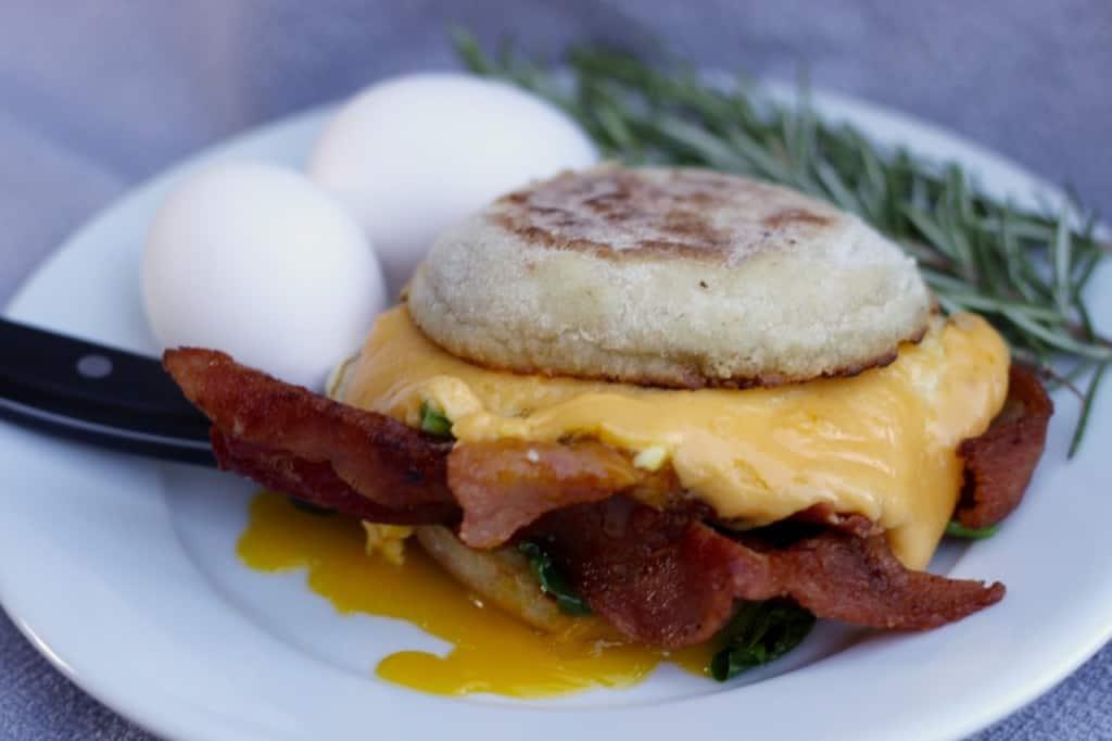 Brookie's Classic Breakfast Sandwich:: Female Foodie