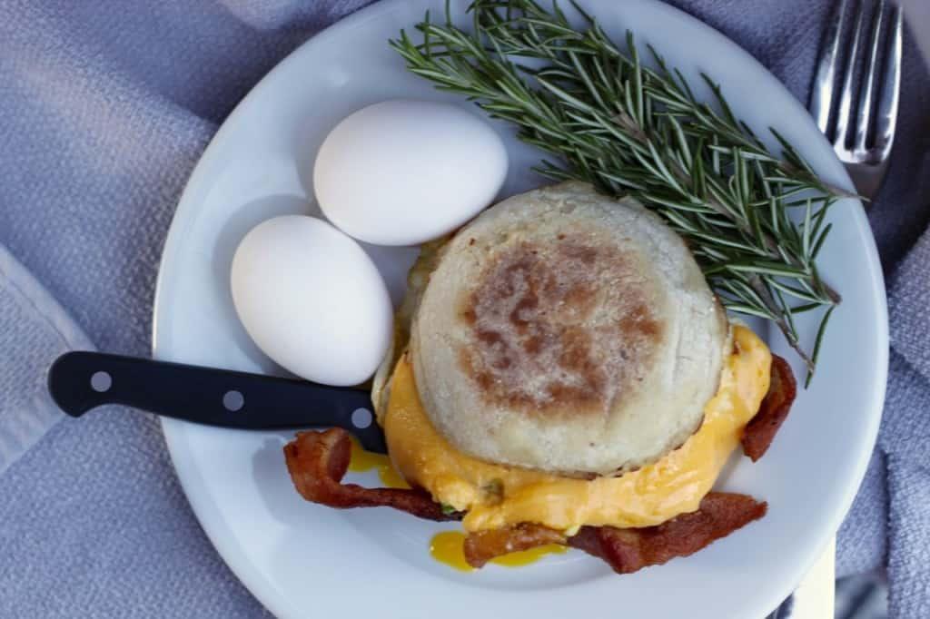 Brookie's Classic Breakfast Sandwich   Female Foodie