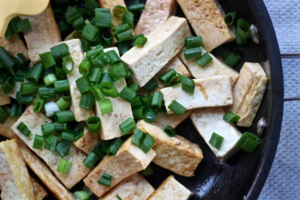 Our Favorite Fried Rice and Easy Stir Fry Tofu