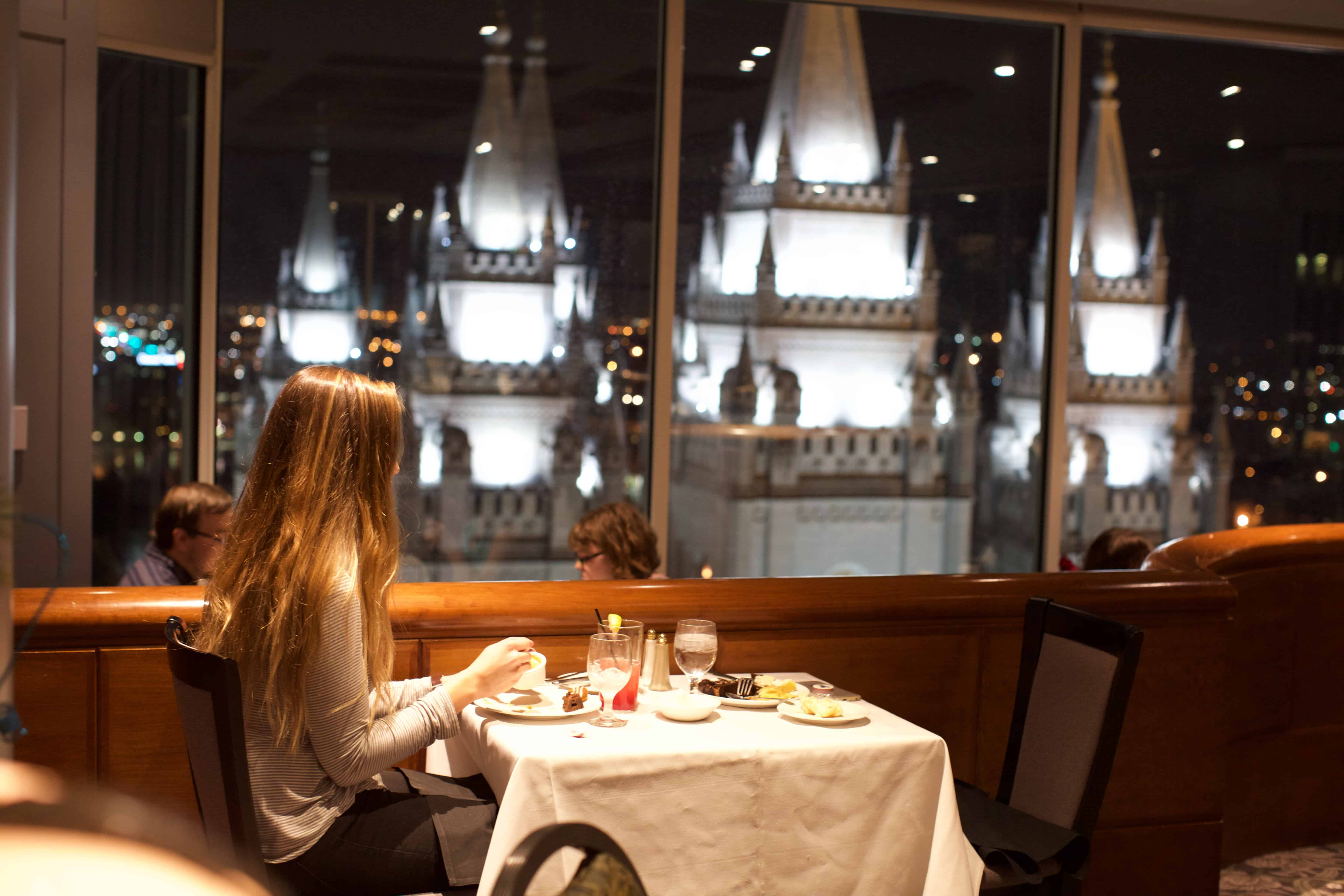 The Roof Restaurant | Female Foodie