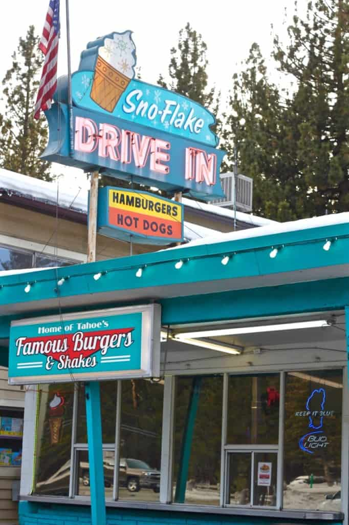 Lake Tahoe: Sno-Flake Drive-In