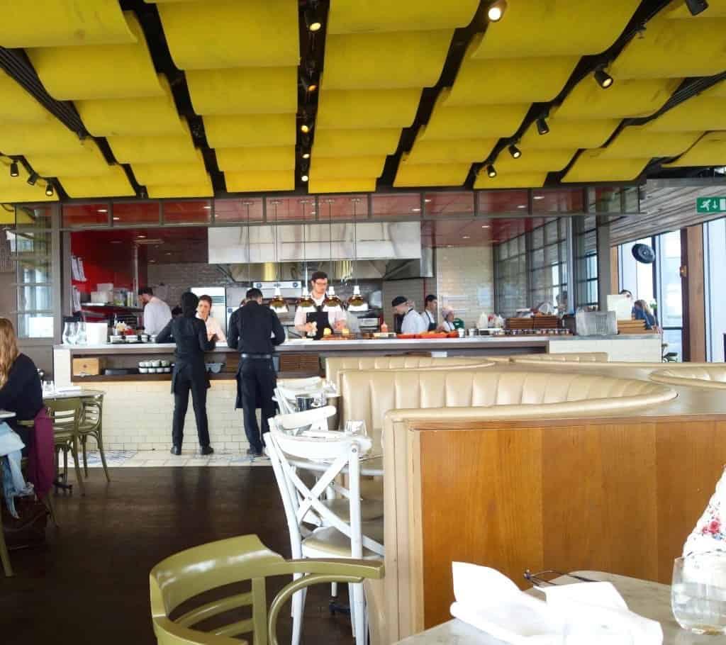 Breakfast in London: Duck and Waffle