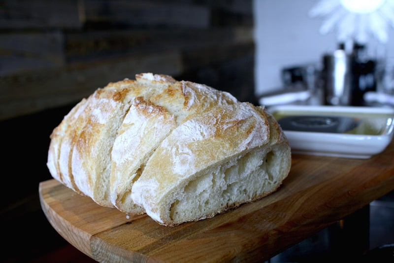 Rustic bread at Centro Woodfired Pizzeria