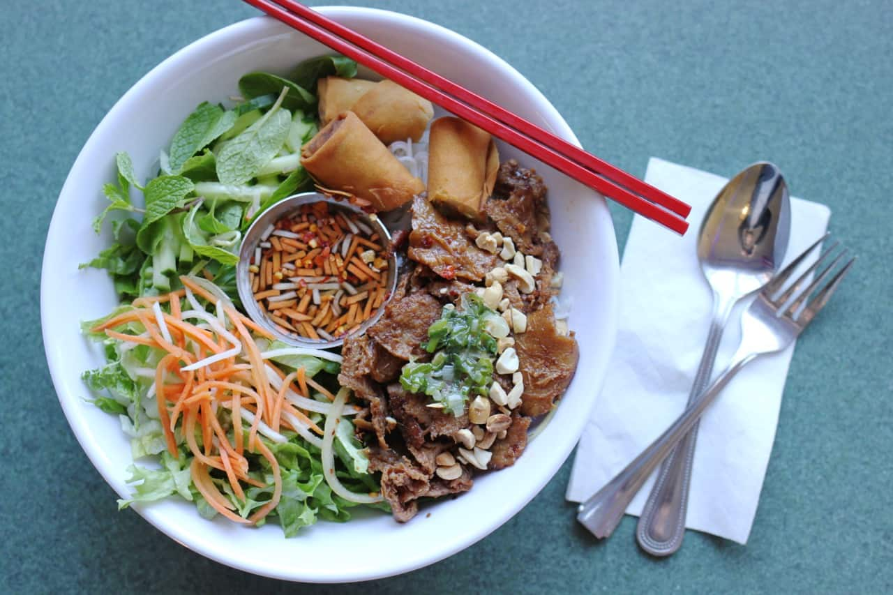 vegan Vietnamese food from All Chay