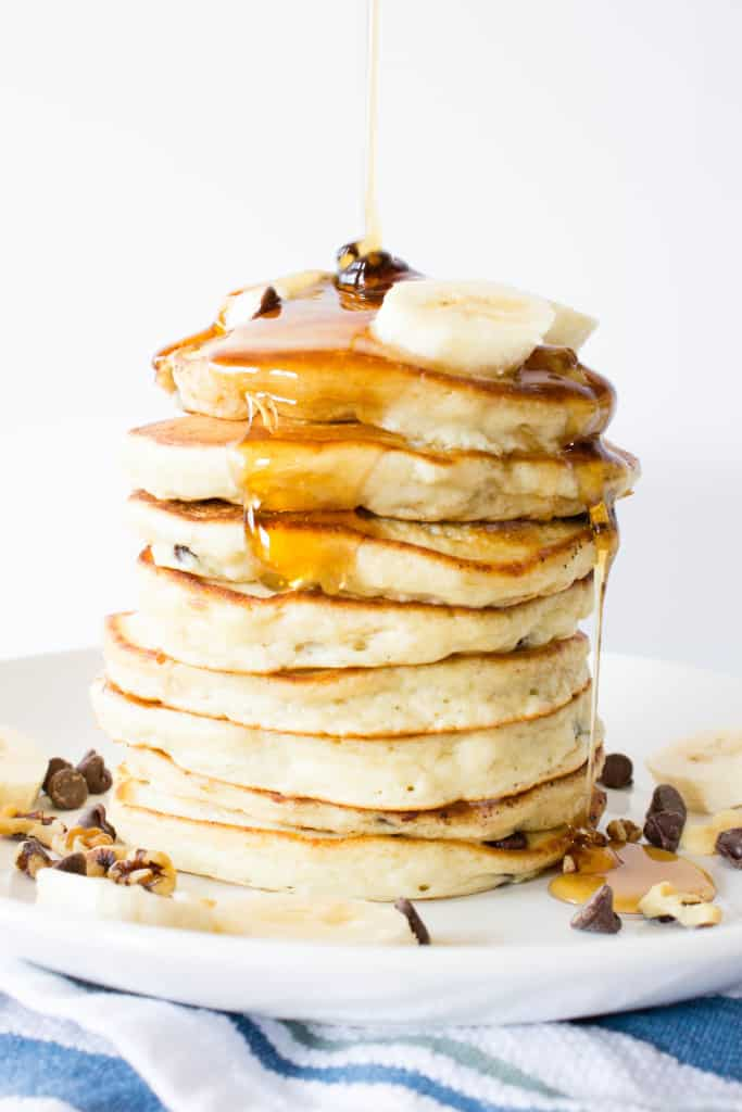 Female Foodie Cooks: Chunky Monkey Pancakes