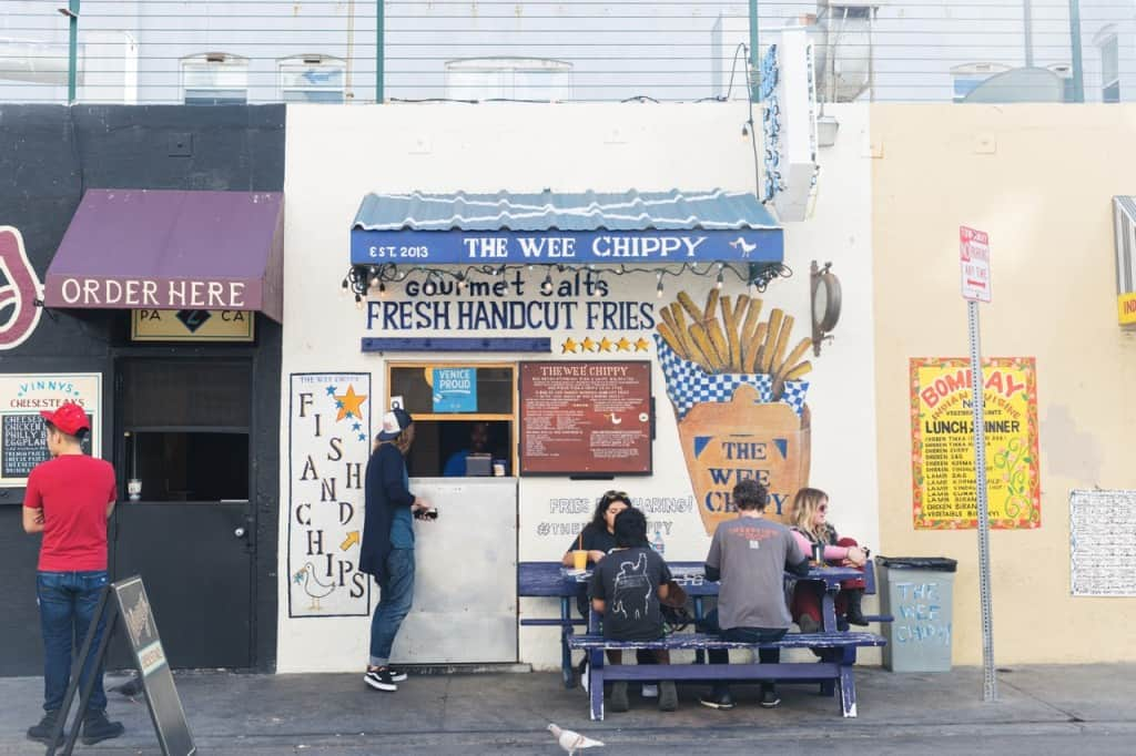 LA Eats: The Wee Chippy