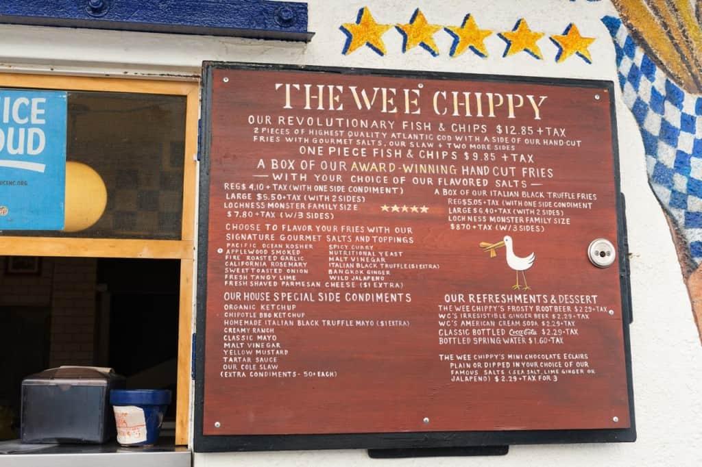 LA Eats: The Wee Chippy