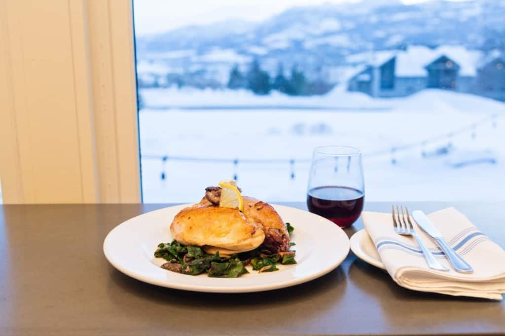 Female Foodie: Dining at Powder Mountain