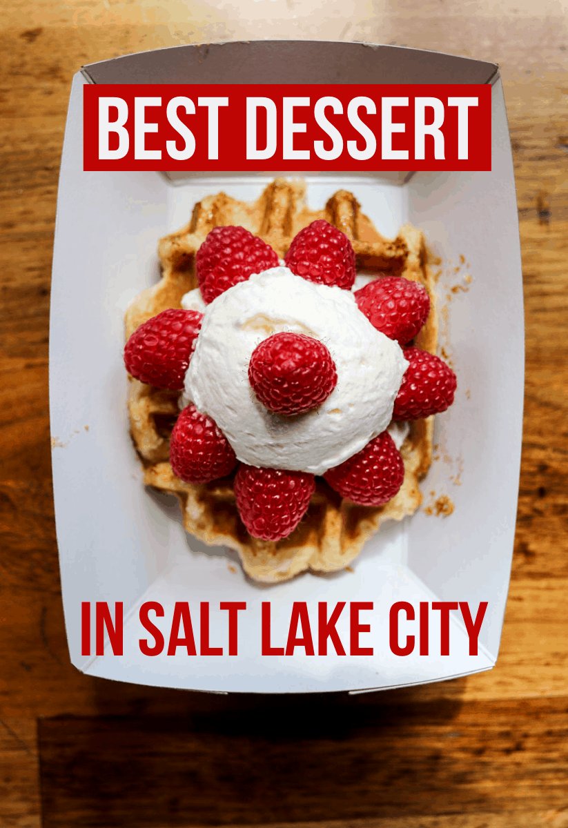 A guide to the 10 best desserts in Salt Lake City! From waffles to donuts to ice cream to cookies.