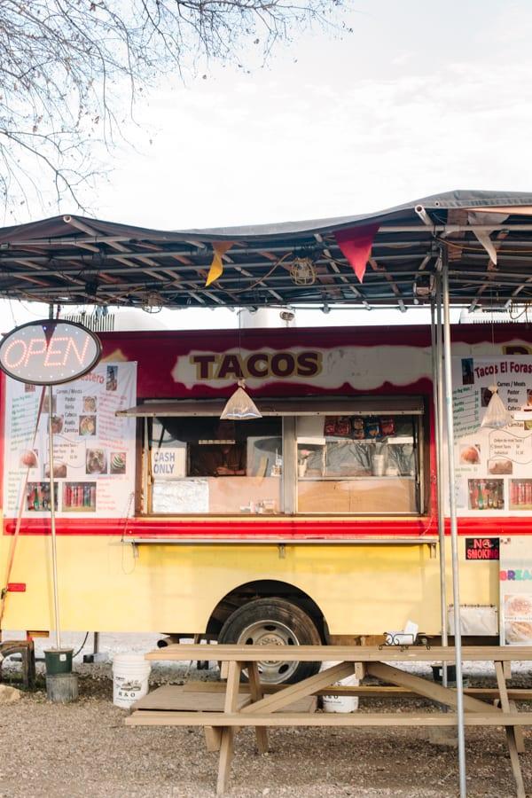 Female Foodie San Antonio - Tacos El Forastero