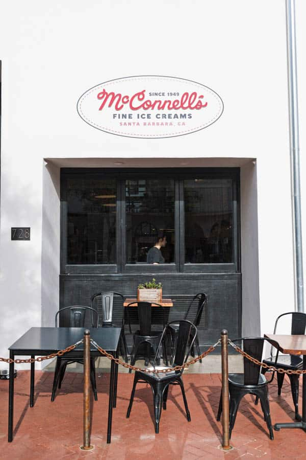Female Foodie Santa Barbara: McConell's Fine Ice Creams