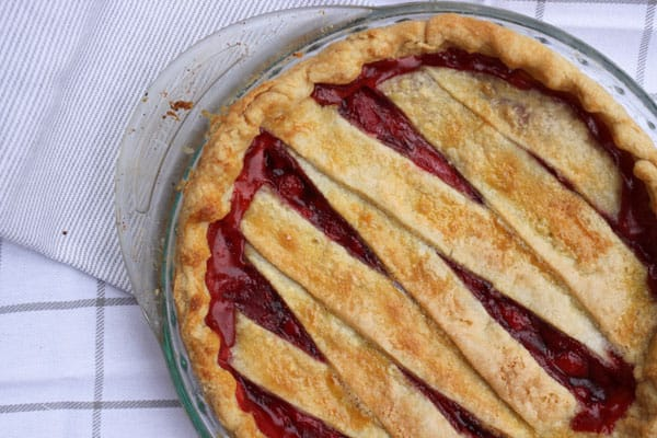 Easy Strawberry Pie! Don't expect any leftovers.