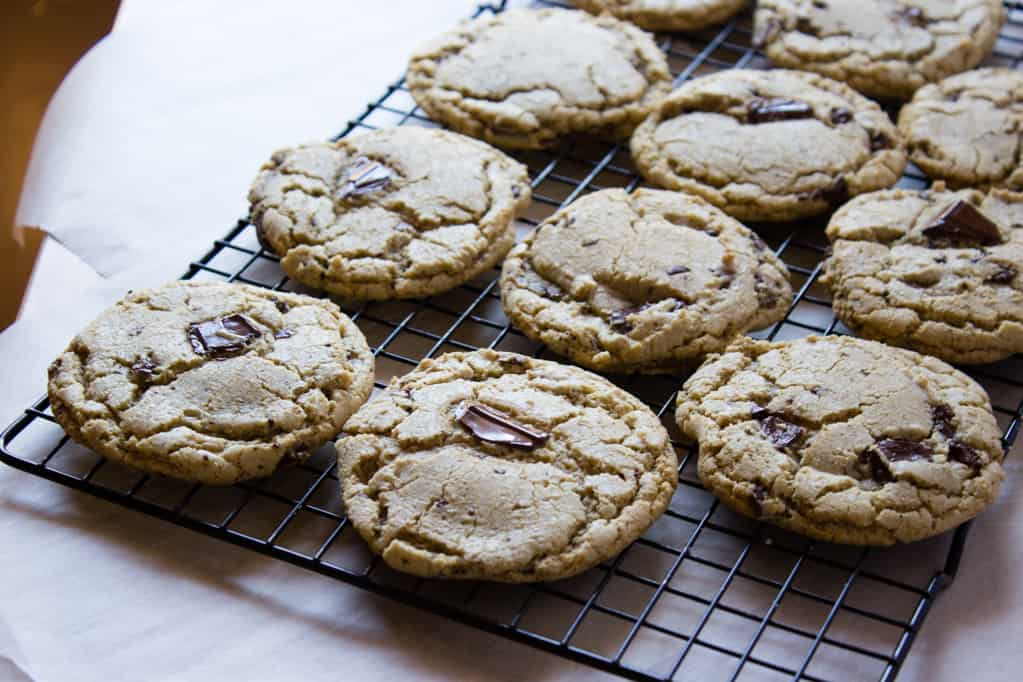 Salted Brown Butter Chocolate Chip Cookies