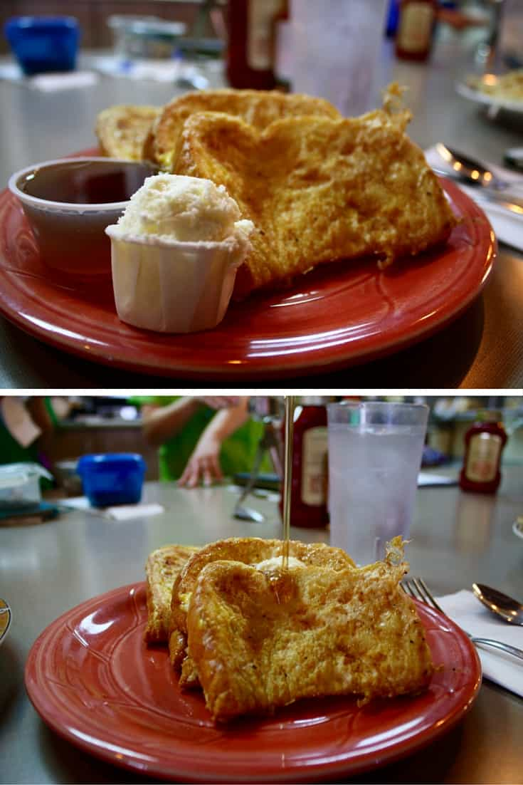 French toast at Britton's in Sandy, Utah