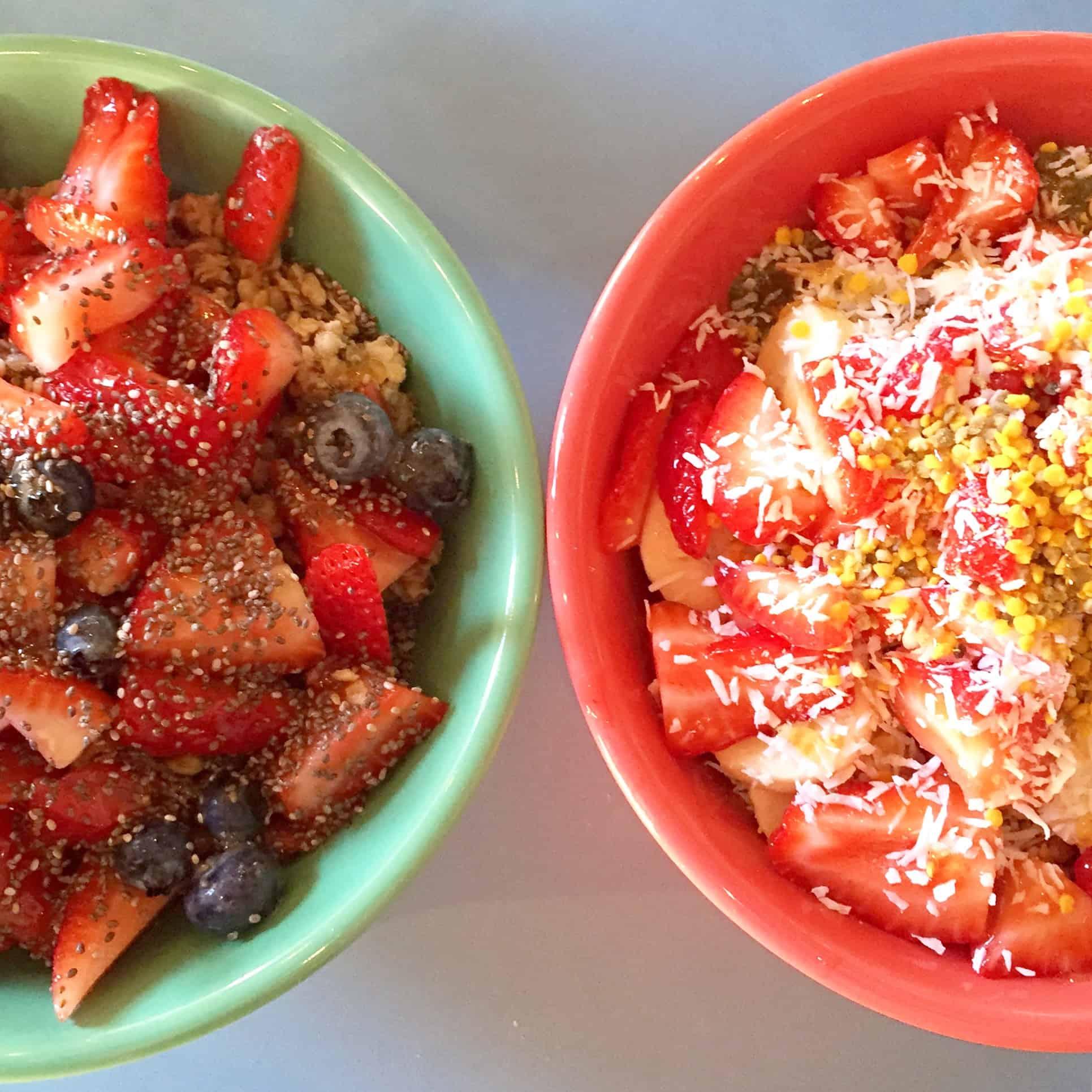 Female Foodie Los Angeles: Backyard Bowls