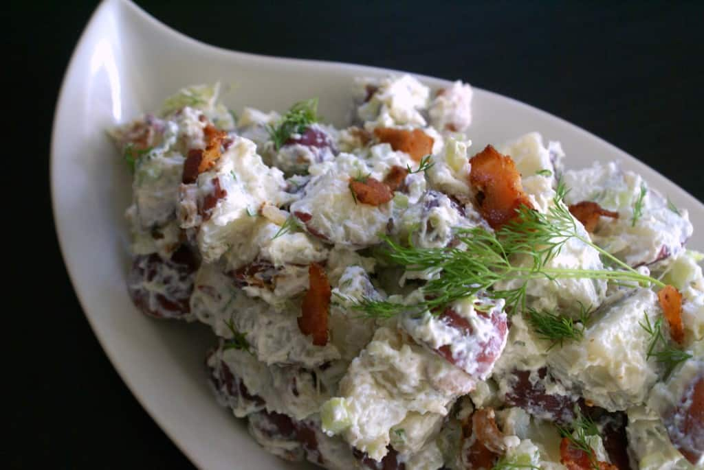 Tzatzki Potato Salad