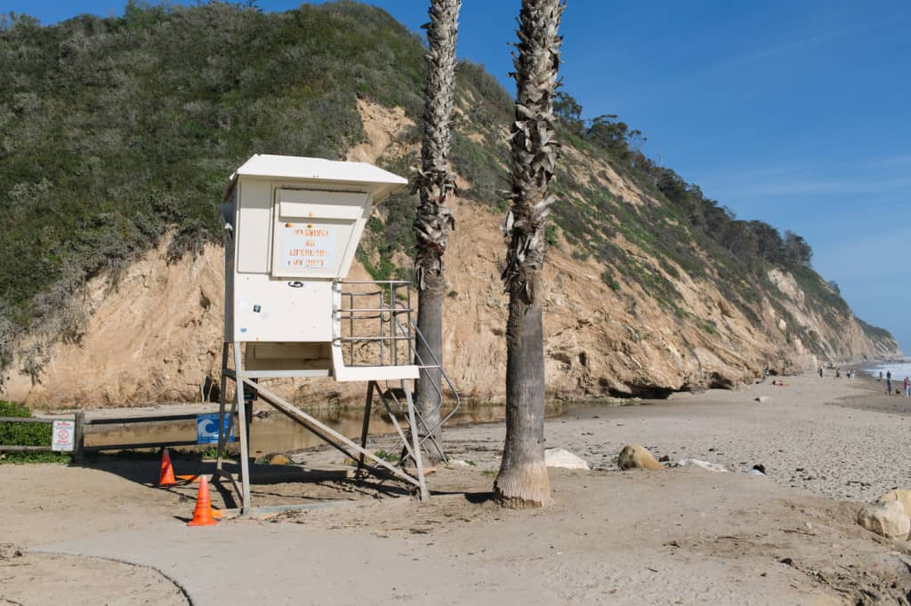 Hendry's Beach in Santa Barbara, CA
