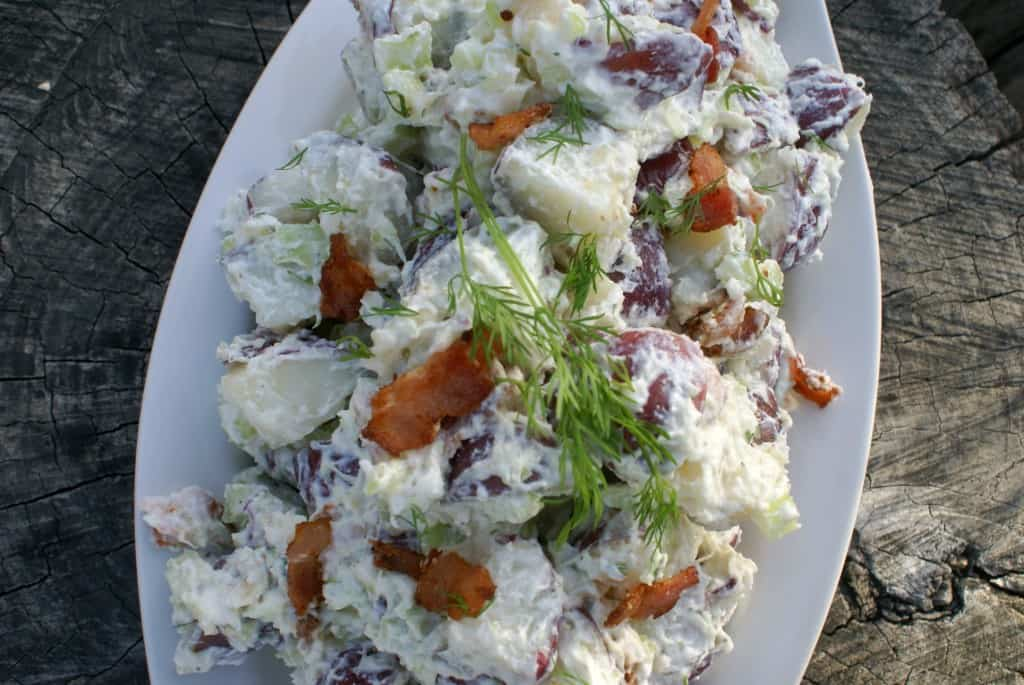 Tzatziki Potato Salad - Female Foodie