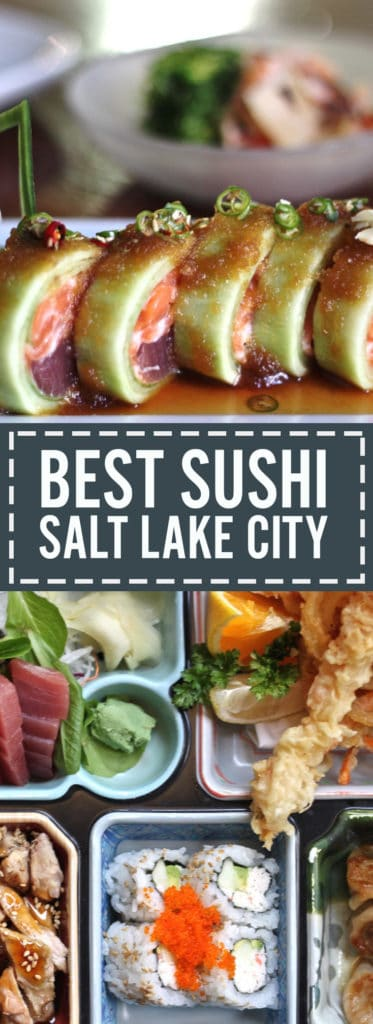 A post featuring the best sushi in Salt Lake City from traditional Japanese to progressive new-age sushi creations.