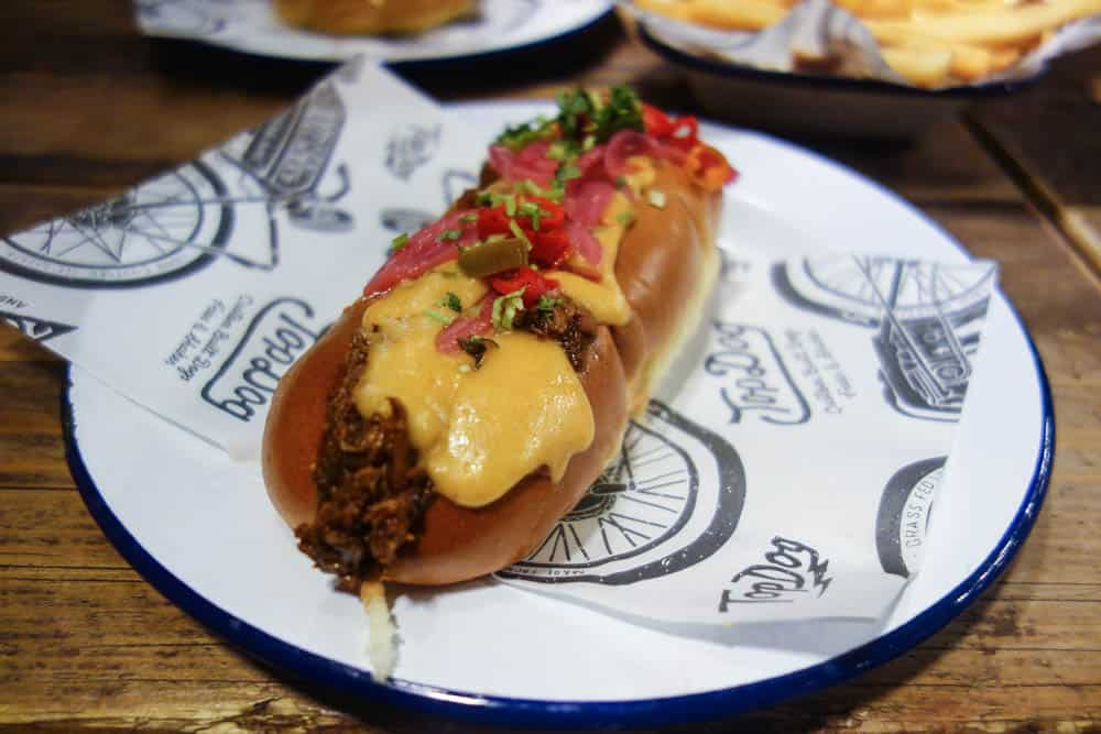 Top Dog - A Hot Dog, Burger and Mac n Cheese joint in Soho, London