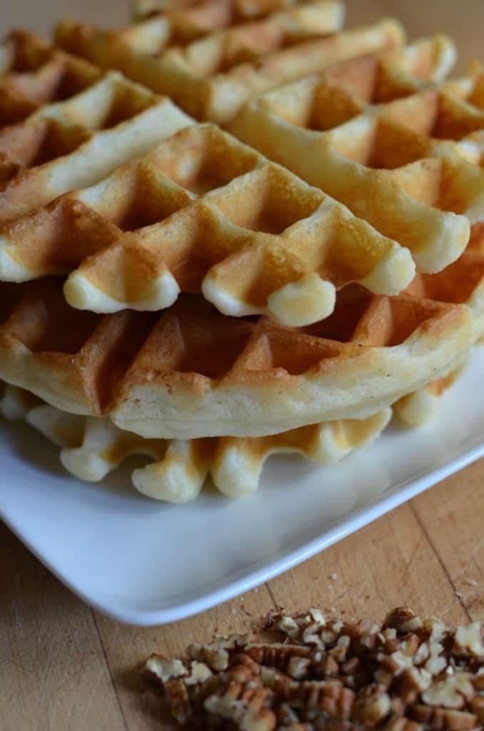Easy Buttermilk Waffles - Female Foodie