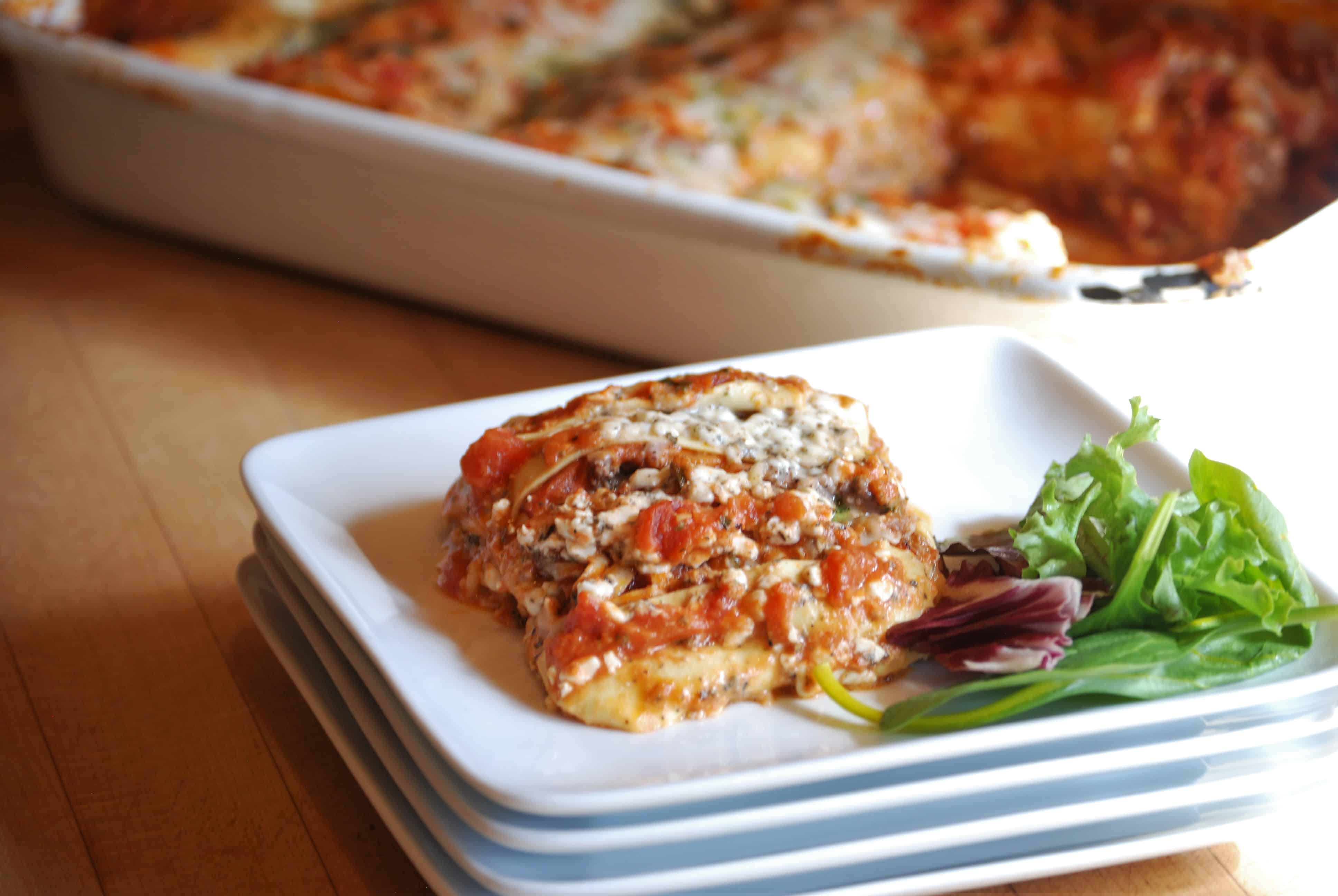 Four Cheese Lasagna - Female Foodie