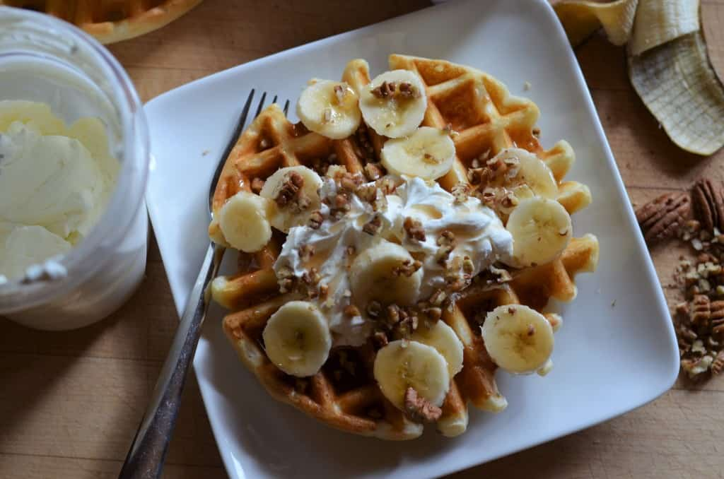 Easy Buttermilk Waffles - Female Foodie