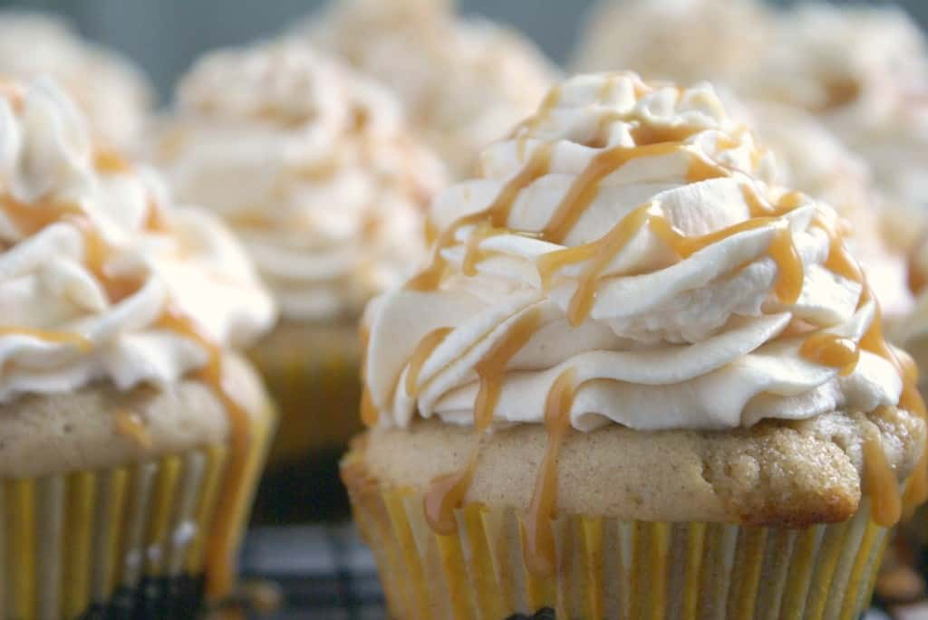 Caramel Apple Cupcakes C