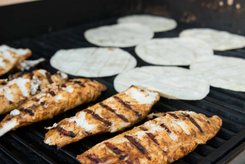 Grilled fish tacos female foodie for Fish taco seasoning