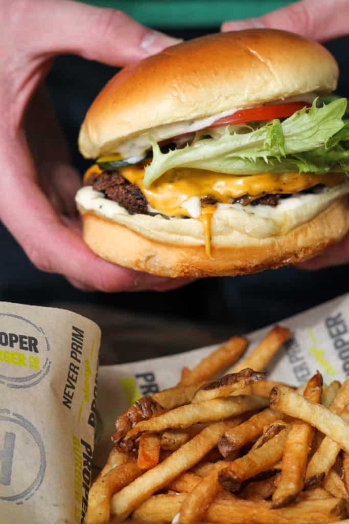 Proper Burger Co Female Foodie Slc