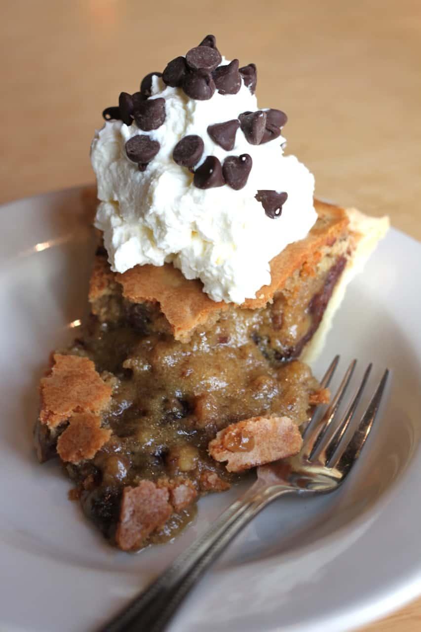 tollhouse pie from The Dodo