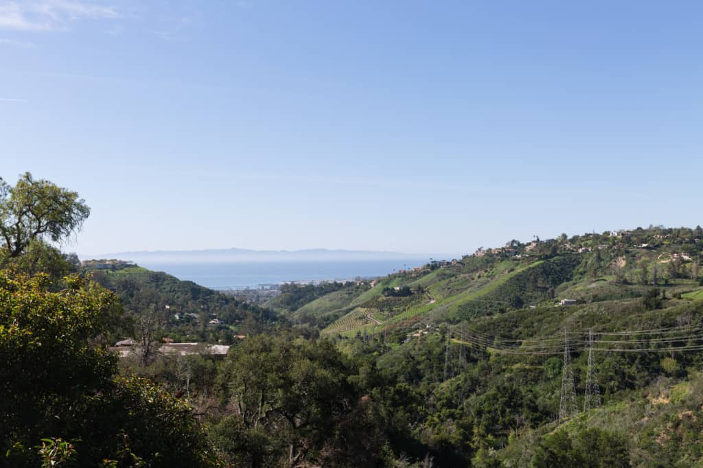 Mountain Drive View
