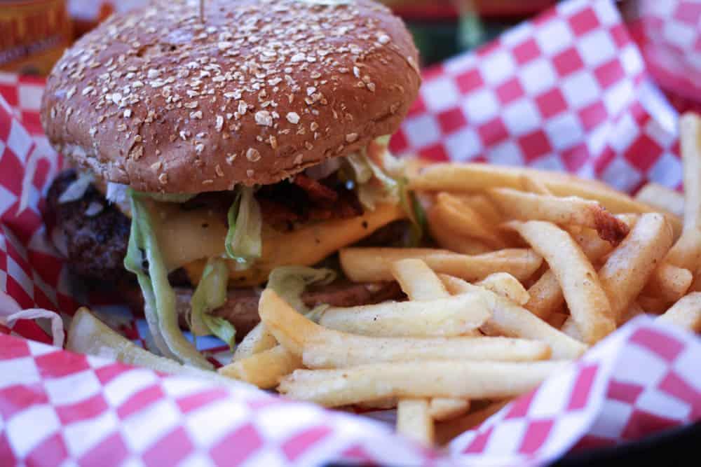 Half Pound Old Fashioned Burger