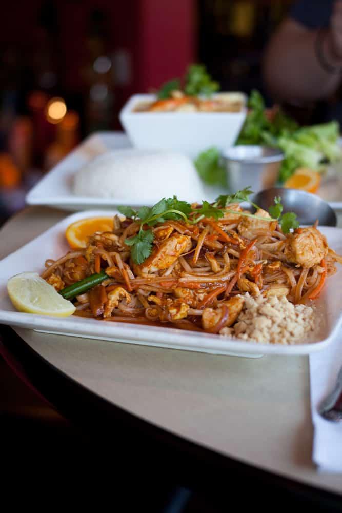 Zion Thai Restaurant Menu