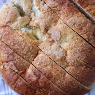 Skillet Honey Bread