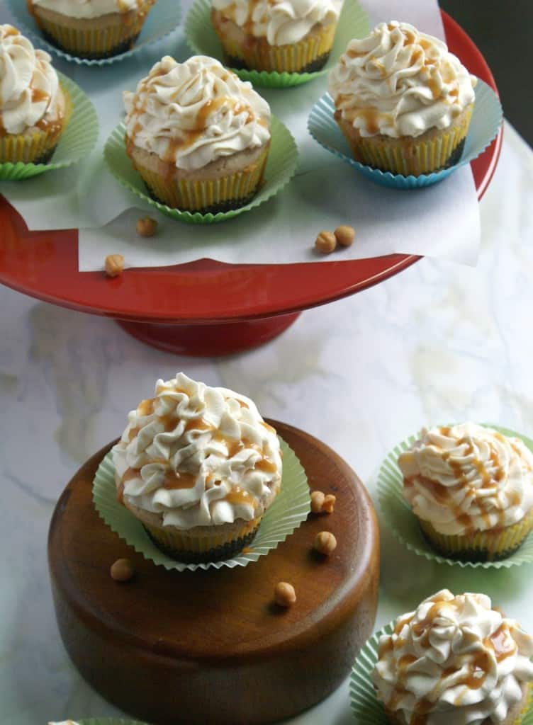 Caramel Apple Cupcakes A