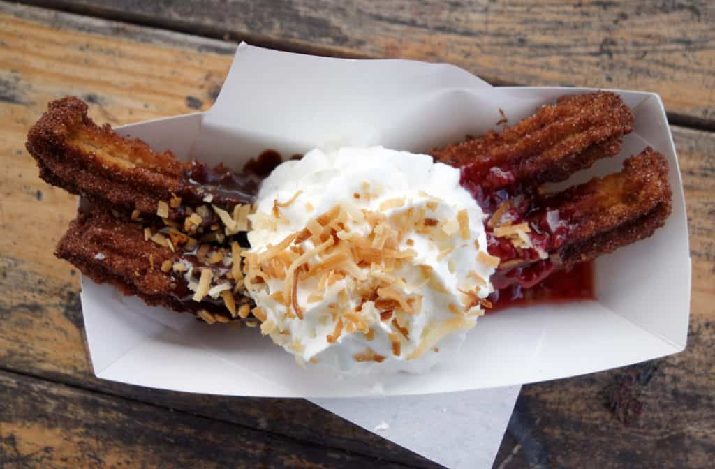 "Churro Co., a food truck in Austin, Texas! Down with tradition- Churro Co. is going to have the craziest toppings out there. As they say, ""Keep Austin Weird""."