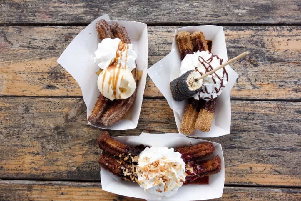 """Churro Co., a food truck in Austin, Texas! Down with tradition- Churro Co. is going to have the craziest toppings out there. As they say, """"Keep Austin Weird""""."""
