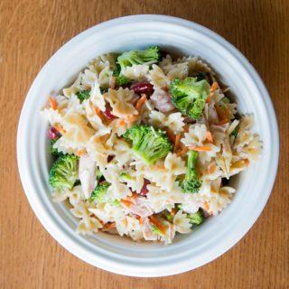 Rotisserie Chicken and Veggie Pasta Salad