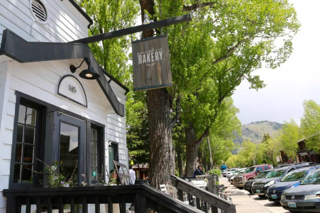 Favorite local cafes in Jackson, Wyoming. A post on the best local spots for spring sipping, noshing, and hanging out in the sunshine.