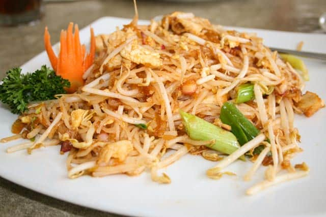 Thai Gourmet in Houston, Texas. This authentic gem is tucked away on the west side of Houston and serves the best Thai food you can get for miles!