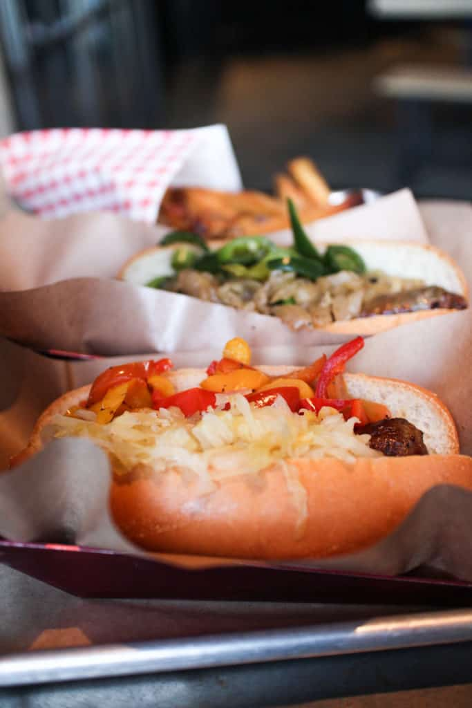 Wurstküche in Los Angeles- home to exotic grilled sausages in Downtown Los Angeles and the westside in Venice.