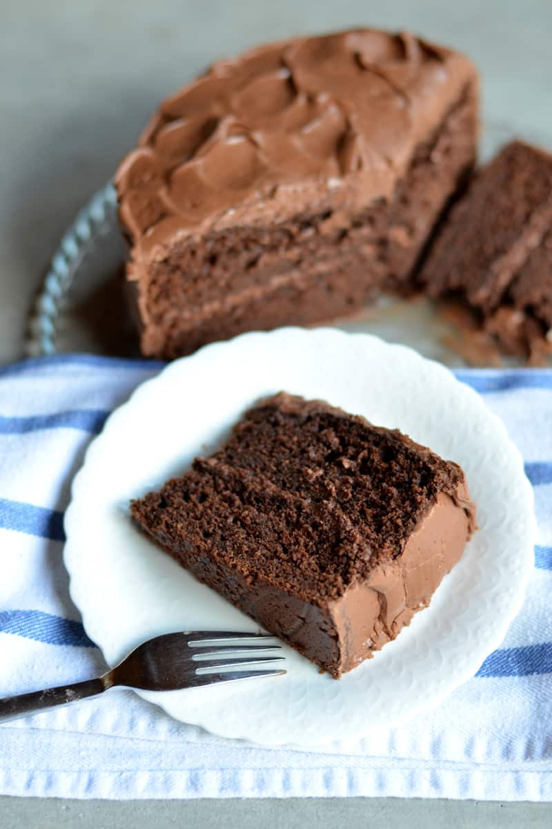 This Death by Chocolate Cake is the most decadent, delicious cake in the world!