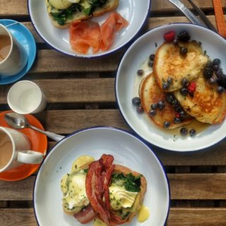 London: Burnt Toast Cafe