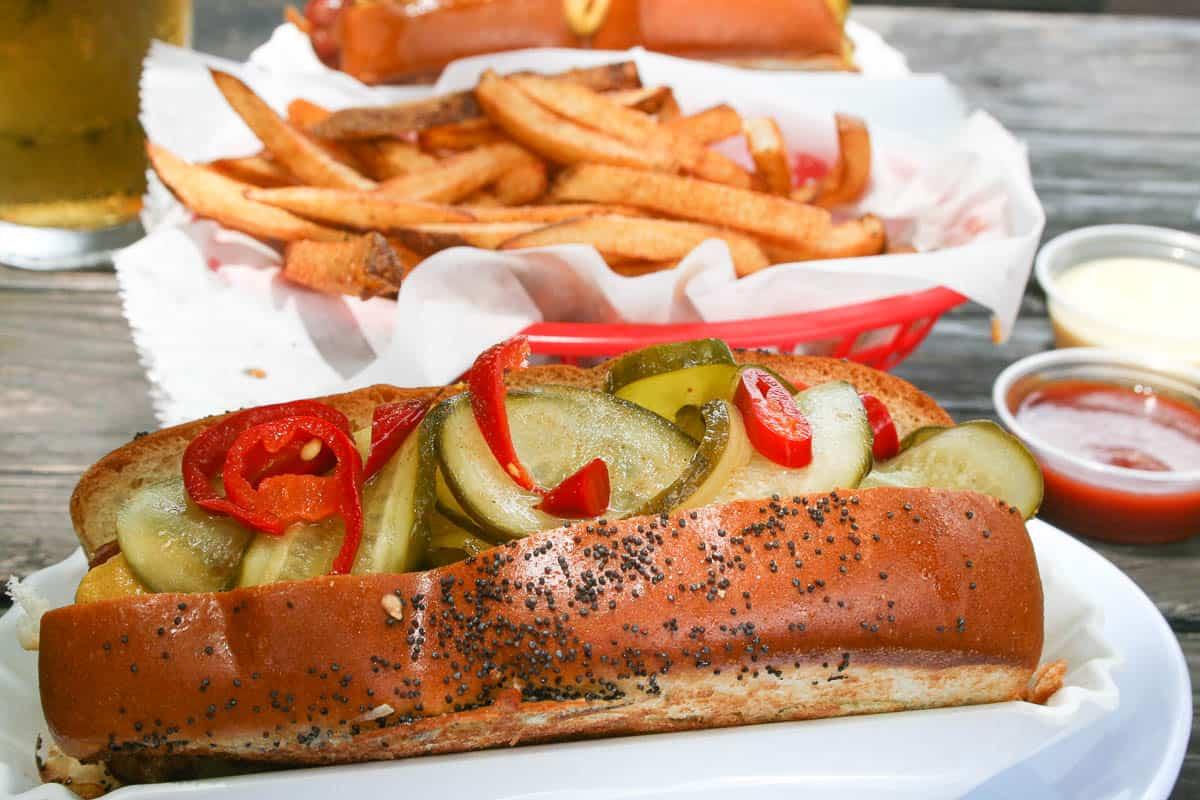 Good Dog, Houston, Hot Dog, Chicago Dog,