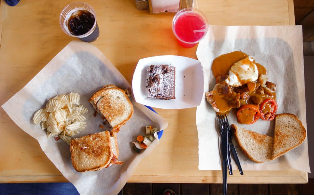 Noble Sandwich Co. in Austin, Texas! A casual and homey farm to table experience in Austin serving breakfast and lunch.