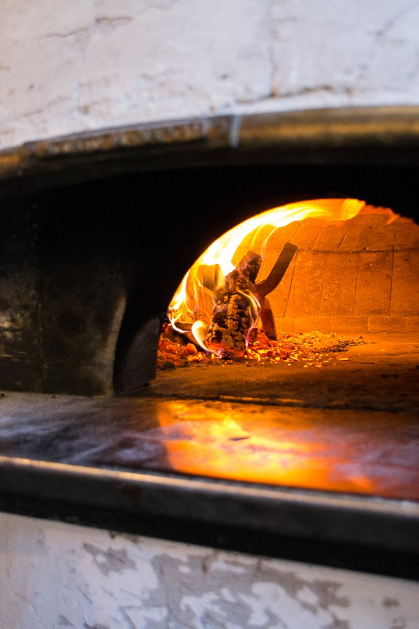 Il Lazzarone in Kansas City, Missouri. Some of the best authentic Italian pizza prepared in a wood fired oven.