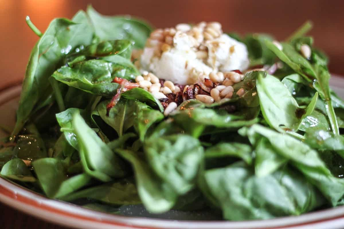 Cafe Madriz Spinach Salad Recipe