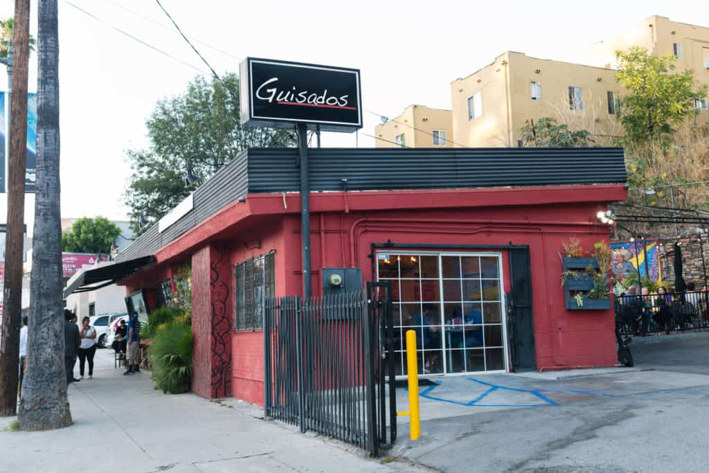 Guisados in Los Angeles is a must for Mexican Food! Cheap, tasty, fresh and fast- visit Guisados for some of the tastiest tacos LA has to offer!