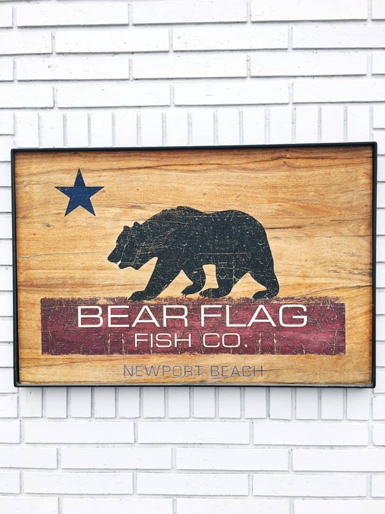 BEAR FLAG SIGN